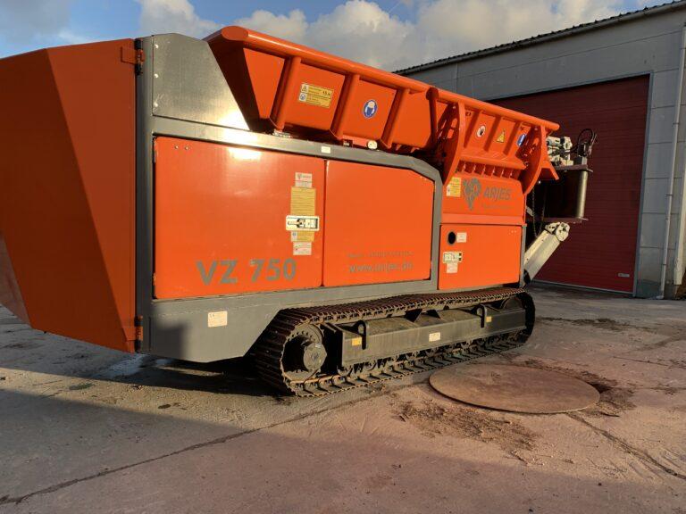 Arjes shredder VZ750T
