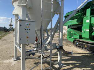 installatie voor grondverbetering